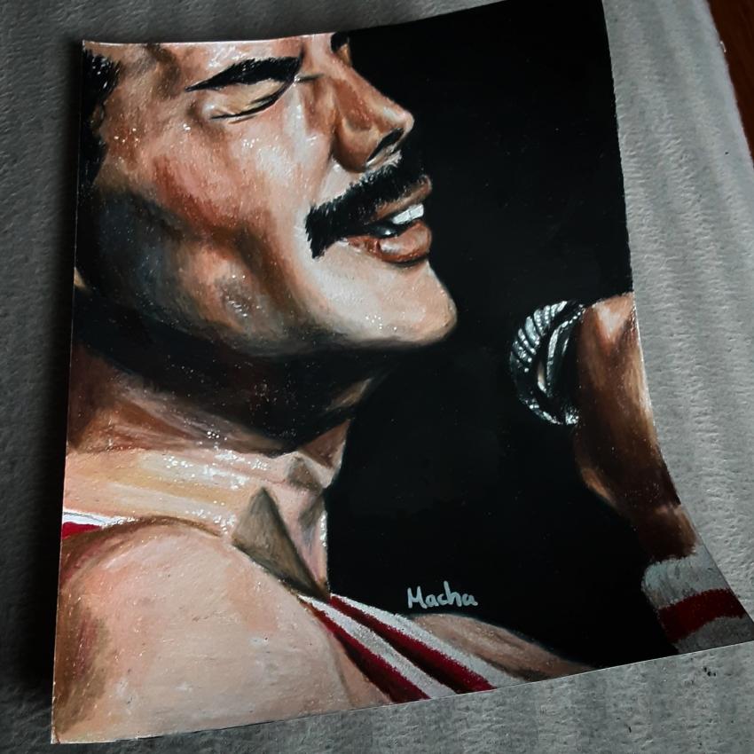 Freddie Mercury by Macha
